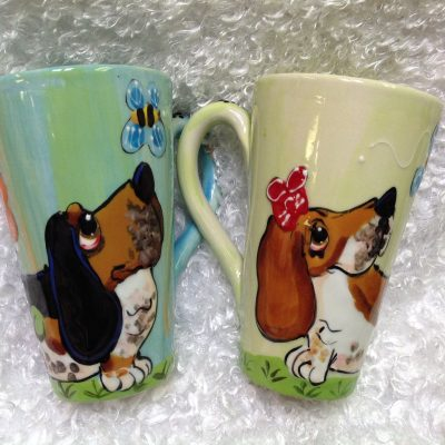Basset Hound Dog Mugs