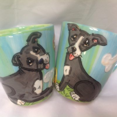 Mixed Breed Dog Mugs