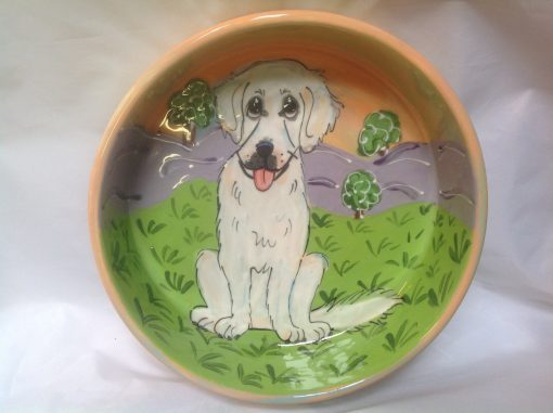 Mixed Breed Dog Bowl