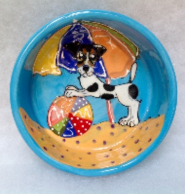 Jack Russell Terrier Dog Bowl