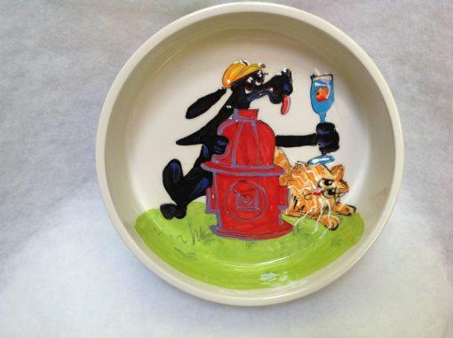 Whimsical Dog Bowl