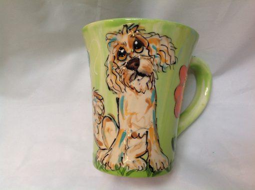 Labradoodle Dog Coffee Mug