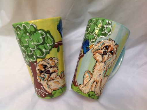 Labradoodle Dog Coffee Mugs