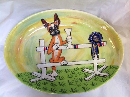 Boxer Dog Trophy