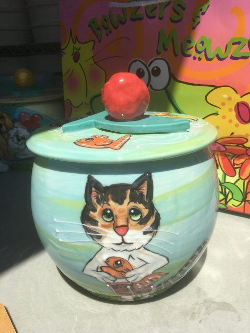 Kitty Cat Treat Jar