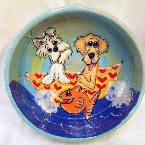 Westie Dog Bowl