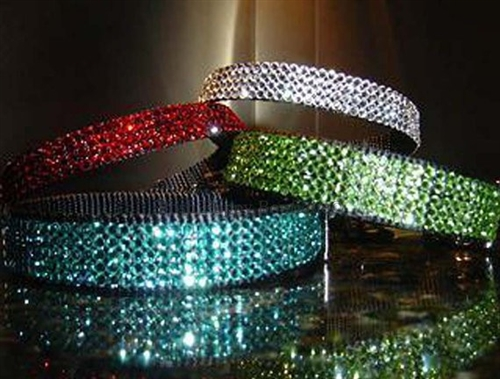 Birthstone Color Swarovski Crystal Collars- Many Colors