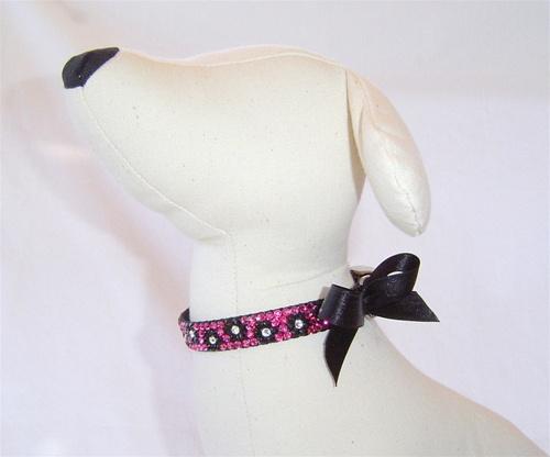 Posh Pooch Cherie Rose Swarovski Collar