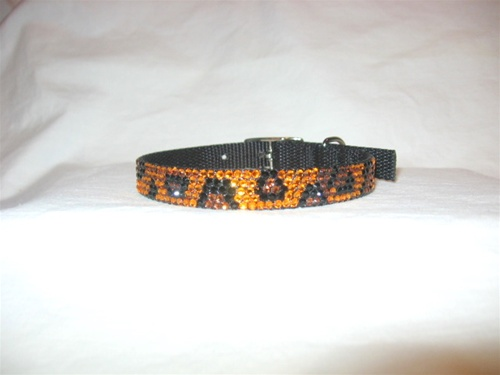 Urban Jungle Leopard Swarovski Collar