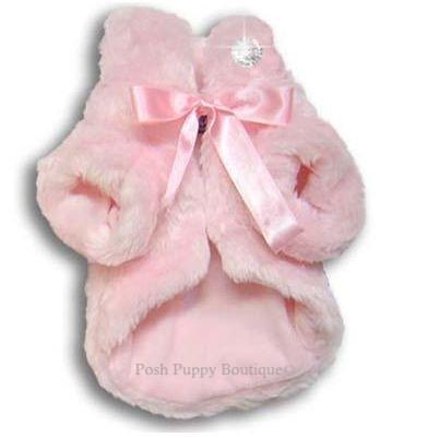 Fun Fur Glamour Coat- Pink