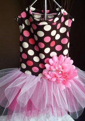 Pink Dot Tutu Dress