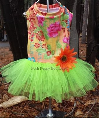 Couture Limon Tropic Tutu Dress