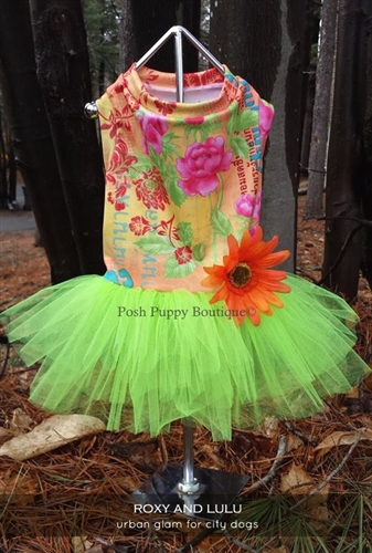 Couture Limon Tropic Tutu Dress