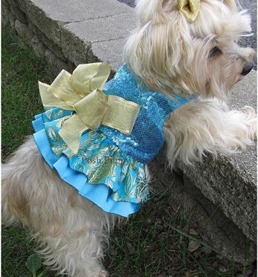 Couture Serenatta Dog Harness Dress