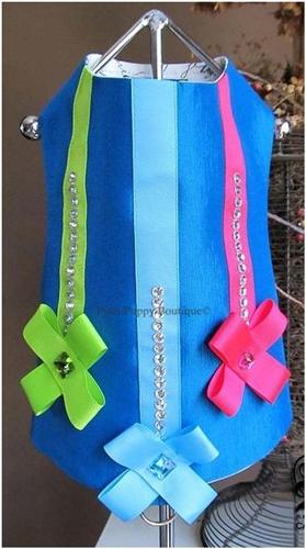 Couture Twilight Teal Dog Harness Vest