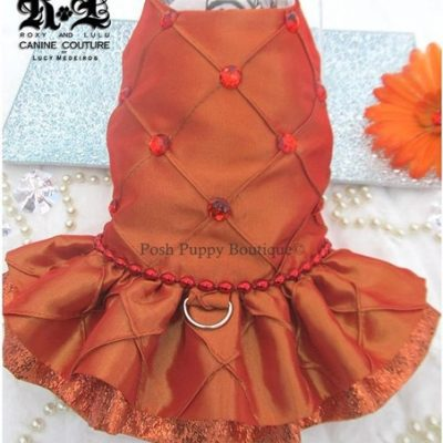 Couture Tangerine Dream Dog Harness Dress