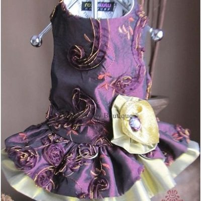 Couture Sugar Plum Fairy Dog Harness Dress