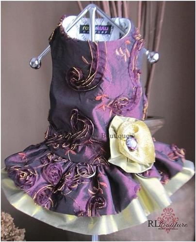 Couture Sugar Plum Fairy Dog Harness Dress