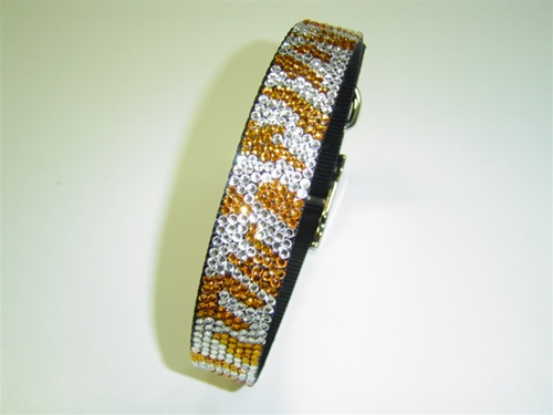 Urban Jungle Tiger Swarovski Collar