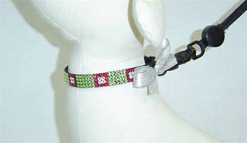 Posh Pooch Glass Box Swarovski Collar