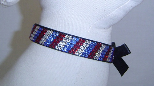 Posh Pooch Presidential Swarovski Collar