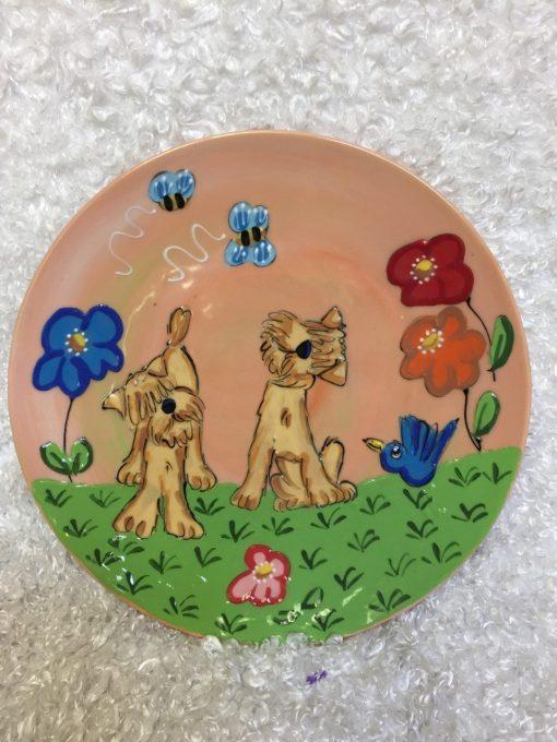 Wheaten Terrier Dog Trophy