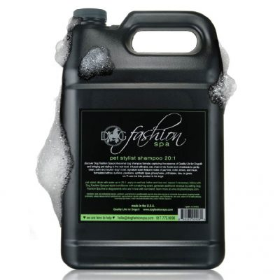 pet stylist and dog handler concentrated shampoo 20:1 dilution