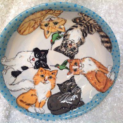 Cat Pasta Bowl
