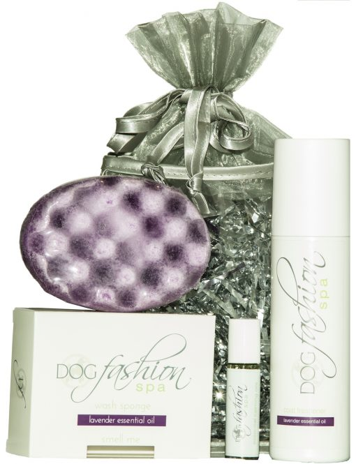 lavender essential oil gift for a dog