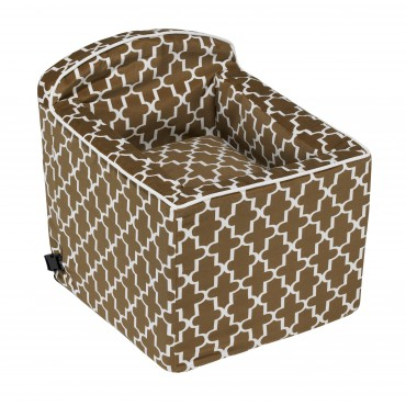 Booster Seat Cedar Lattice