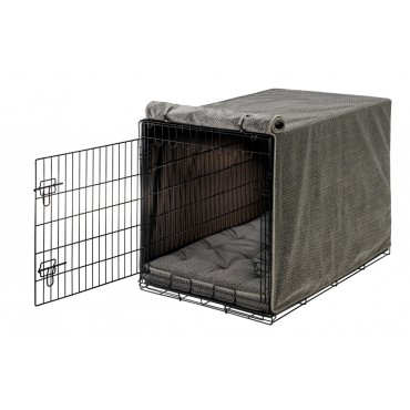 Crate Cover Pewter Bones