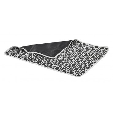 Luxury Throw Blanket Courtyard Grey