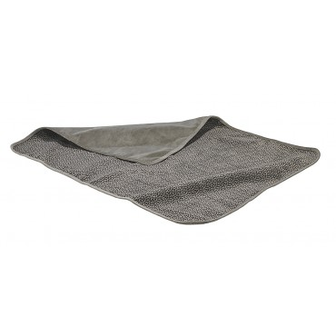 Luxury Throw Blanket Pewter Bones