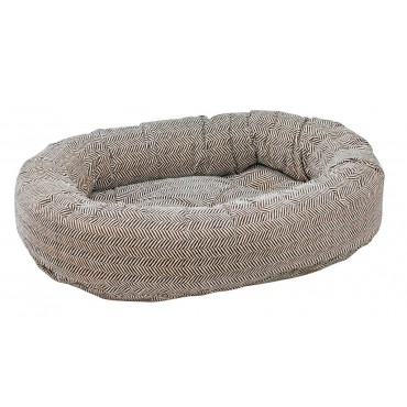 Donut Bed Herringbone