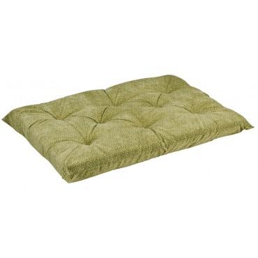 Tufted Cushion Green Apple Bones