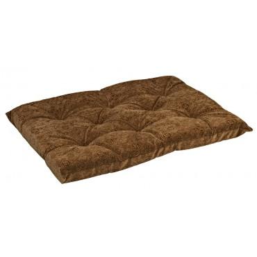 Tufted Cushion Pecan Filigree