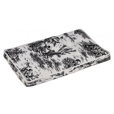Luxury Crate Mattress Onyx Toile