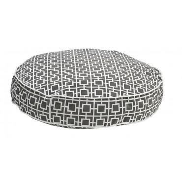 Super Soft Round Courtyard Grey