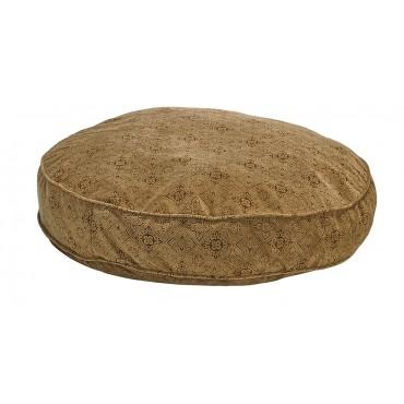 Super Soft Round Pecan Filigree