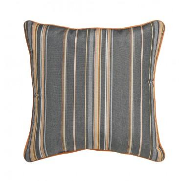 "Outdoor Throw Pillow Square Cabana Stripe 16""x16"""