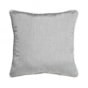 "Outdoor Throw Pillow Square Heather Grey 16""x16"""