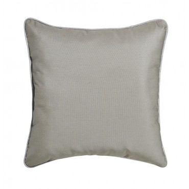 "Outdoor Throw Pillow Square Dune 16""x16"""