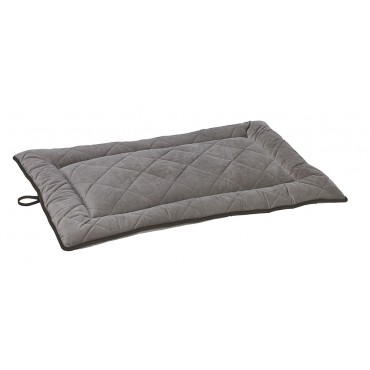 Cross Country Quilted Mat Pebble