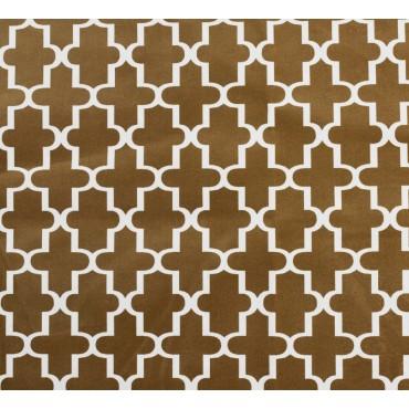 Fabric by the Yard Cedar Lattice
