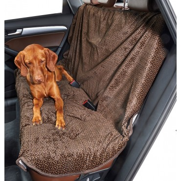Back Seat Cover Chocolate Bones