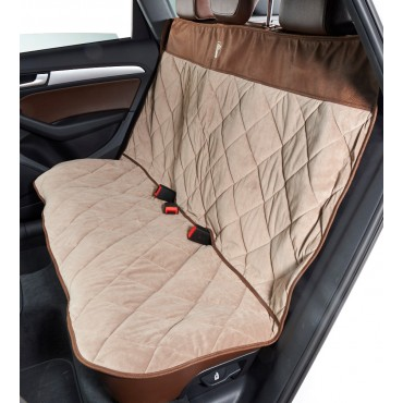 Cross Country Back Seat Protector Pebble