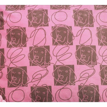 Fabric by the Yard Tickled Pink