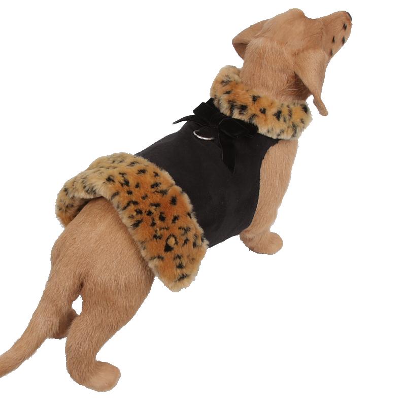 Camel Lynx Fur Coat