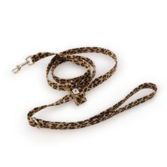 Cheetah Couture Big Bow Leash