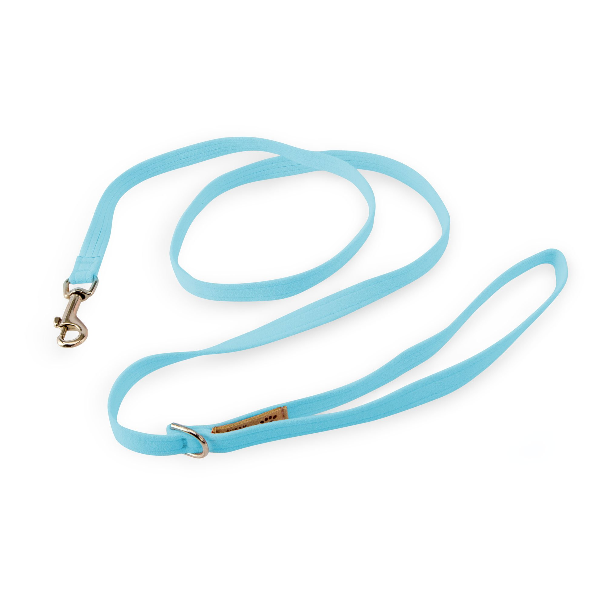 Tiffi Blue Solid Leash